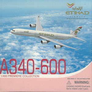 1/400 A340-600 Etihad Airways ~ A6-EHE