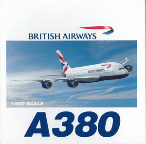 1/400 A380 British Airways