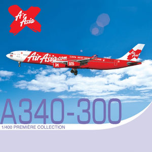 "1/400 A340-300 Air Asia ""Capa Best New Airline"" ~ 9M-XAB"