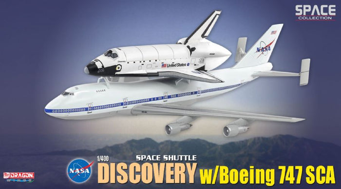 "1/400 Space Shuttle ""Discovery"" w/Boeing 747 Transporter"