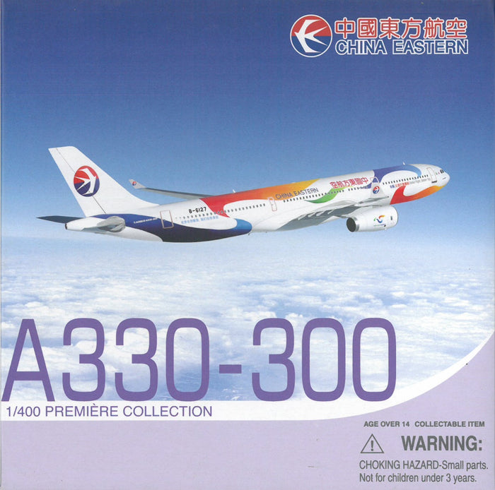 "1/400 A330-300 China Eastern Airlines ""Better Flight, Better Trip"" ~ B-6127"