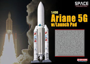 1/400 Ariane 5G w/Launch Pad
