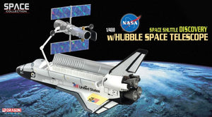1/400 Space Shuttle Discovery w/Hubble Space Telescope