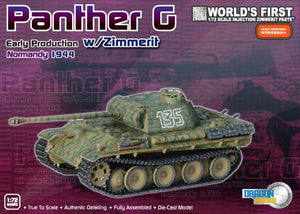 1/72 Panther G Early Production w/Zimmerit, Normandy 1944