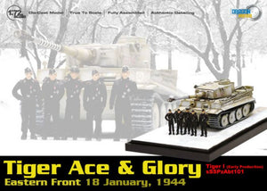 "1/72 ""Tiger Ace & Glory - Wittmann & Crew"" Tiger I Early Production w/Crew"