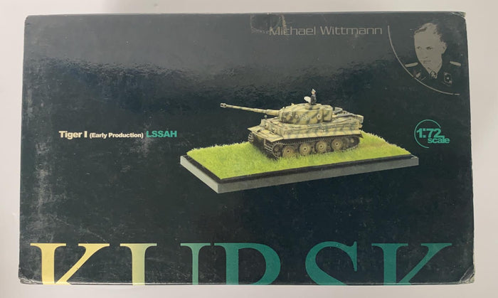 "1/72 ""Michael Wittmann"" Tiger I Early Production, ""LAH"", Kursk 1943 + Diorama Base"