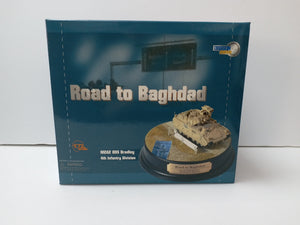 "1/72 ""Road to Baghdad"" M2A2 ODS Bradley, 1-8th Infantry, 4th Infantry Division, Baghdad 2004 + Diorama Base"