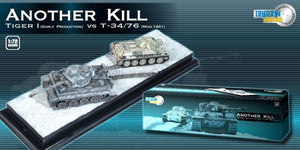 "1/72 ""Another Kill"" Tiger I Early Production vs T-34/76 Mod.1941 + Diorama Base"
