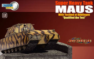 "1/72 Super Heavy Tank Maus with Testbed at Böblingen ""Qualified the Test"""
