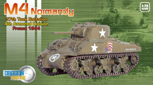 1/72 M4 Normandy, 37th Tank Battalion, 4th Armored Division, France 1944