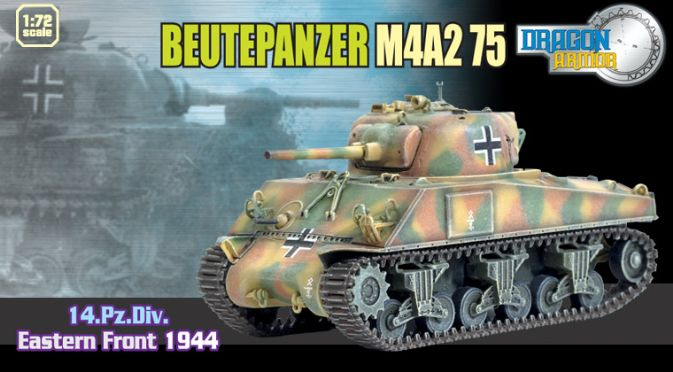 1/72 Beutepanzer M4A2 75, 14.Pz.Div., Eastern Front 1944