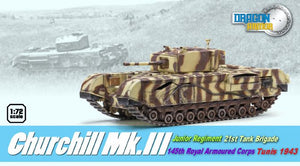 1/72 Churchill Mk.III, Tunis 1943