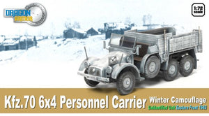 1/72 Kfz.70 6x4 Personnel Carrier, Winter Camouflage