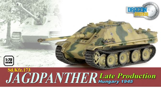 1/72 Sd.Kfz.173 Jagdpanther, Late Production, Hungary 1945