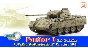 "1/72 Panther D Early Production, 4./Pz.Rgt.""GroBdeutschland"", Karachev 1943"