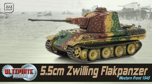 1/72 5.5cm Zwilling Flakpanzer, Western Front 1945