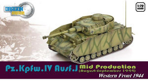 1/72 Pz.Kpfw.IV Ausf.J MID PRODUCTION (August-September 1944)