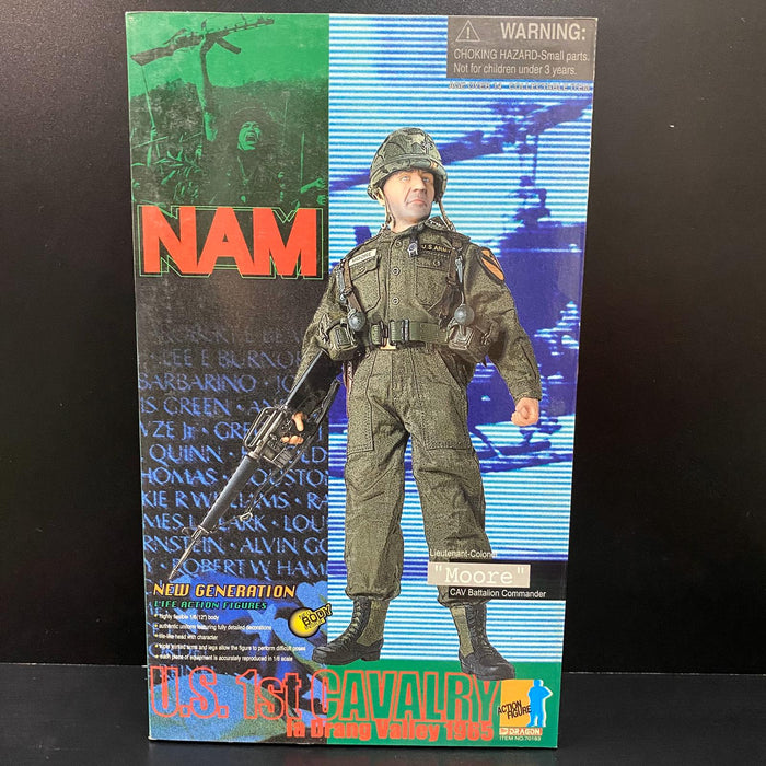 "1/6 NAM US 1st Cavalry Lt-Col ""Moore"" Ia Drang Valley 1965"