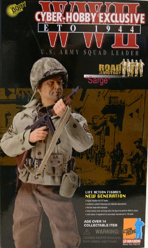"1/6 WWII ETO 1944 U.S. ARMY SQUAD LEADER ""SARGE"""