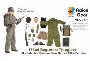"1/6 Dragon Original Action Gear for ""Dewey"", 162nd Regiment ""Jungleer"", 41st Infantry Division, New Guinea 1944 (Private)"