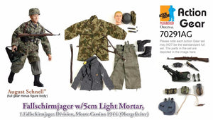 "1/6 Dragon Original Action Gear for ""August Schnell"", Fallschirmjager w/5cm Light Mortar, 1.Fallschirmjager-Division, Monte Cassino 1944 (Obergefreiter)"
