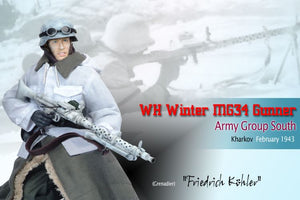 "1/6 ""Friedrich Kohler"", WH Winter MG34 Gunner, Army Group South, Kharkov, February 1943 (Grenadier)"