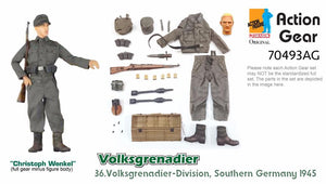 "1/6 Dragon Original Action Gear for ""Christoph Wenkel"", Volksgrenadier 36.Volksgrenadier-Division, Southern Germany 1945"