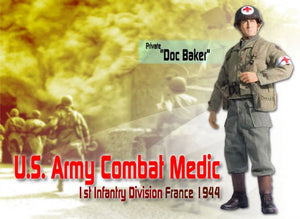 "1/6 ""Doc Baker"", U.S. Army Combat Medic, 1st Infantry Division, France 1944 (Private)"