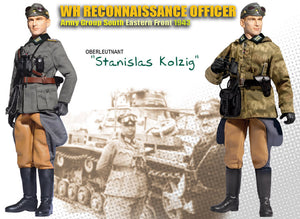 "1/6 Oberleutnant ""Stanislas Kolzig"" WH Reconnaissance Officer Army Group South Eastern Front 1943"