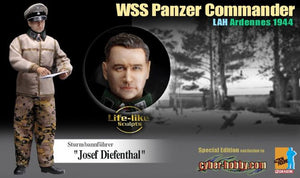"1/6 ""Josef Diefenthal"" WSS Panzer Commander LAH Ardennes 1944"