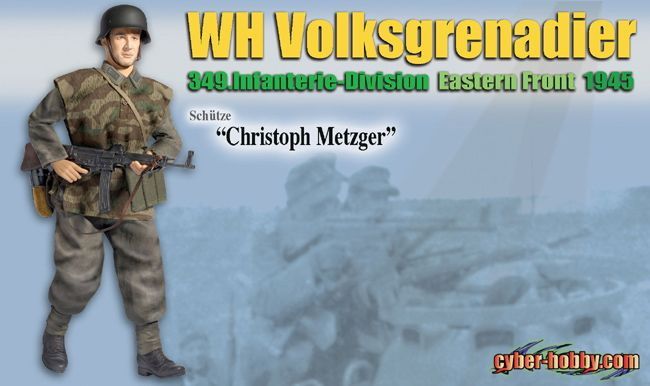 "1/6 ""Christoph Metzger"", WH Volksgrenadier, 349.Infanterie-Division, Eastern Front 1945 (Schutze)"
