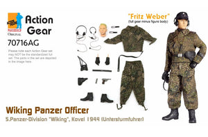 "1/6 Dragon Original Action Gear for ""Fritz Weber"", Wiking Panzer Officer, 5.Panzer-Division ""Wiking"", Kovel 1944 (Untersturmfuhrer)"