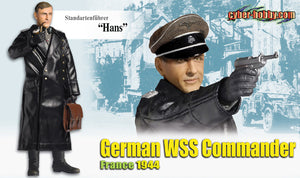 "Cyber Hobby Exclusive DR70757 - 1/6 Standartenfuhrer ""Hans"" German WSS Commander France 1944"