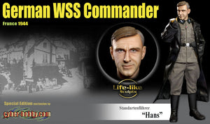 1/6 Standartenfuhrer Hans German WSS Commander France 1944 (Special Edition)