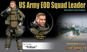 "1/6 Sgt 1st class ""William"" US Army EOD Squad Leader Operation Iraqi Freedom"