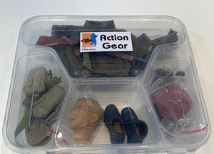 "1/6 Dragon Original Action Gear for Private ""Johnny Vicks"", British SAS Trooper, 1 SAS Regt., Germany 1945"