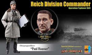 "Cyber Hobby Exclusive DR70815 - 1/6 Obergruppenfuhrer""Paul Hauser"" Reich Division Commander Operation Typhoon 1941"