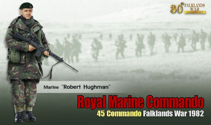 1/6 Royal Marine Commando, 45 Commando, Falklands War 1982
