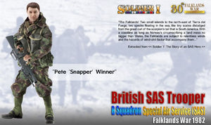 1/6 British SAS Trooper, B Squadron, SAS, Falklands War 1982