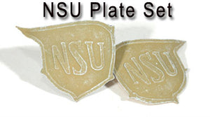 1/6 NSU PLAT SET-DARK YELLOW