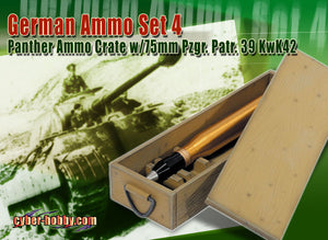 1/6 Panther ammo w/crate
