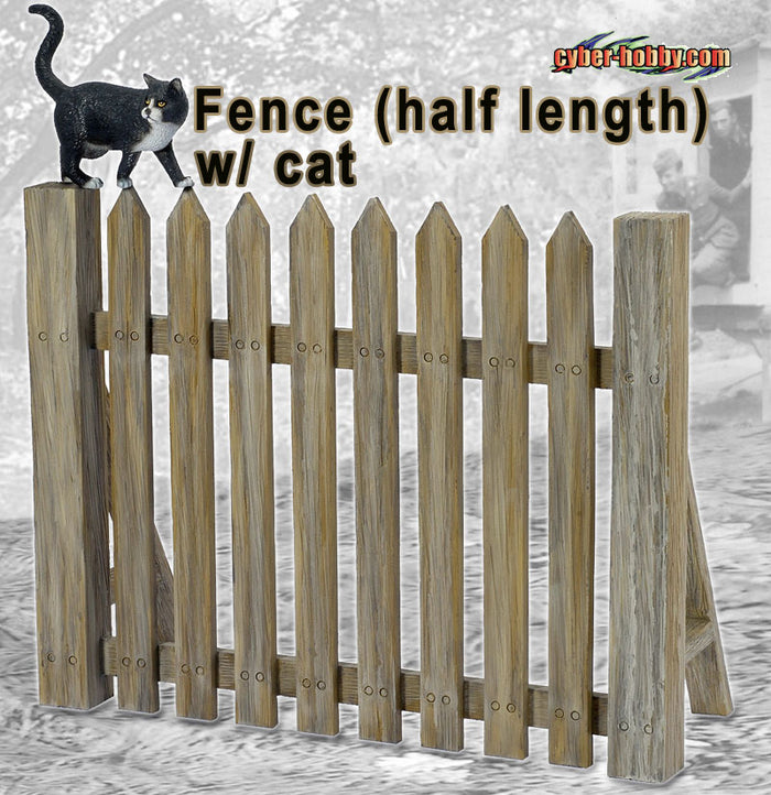 1/6 FENCE (HALF LENGTH) W/CAT