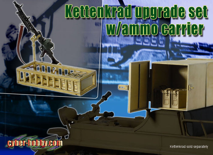 1/6 KETTENKRAD UPGRADE SET w/AMMO CARRIER