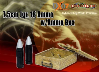 1/6 7.5mm Jgr.18 Ammo w/Ammo Box
