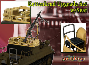 Cyber Hobby Exclusive DR71345 - 1/6 KETTENKRAD UPGRADE SET w/Seat