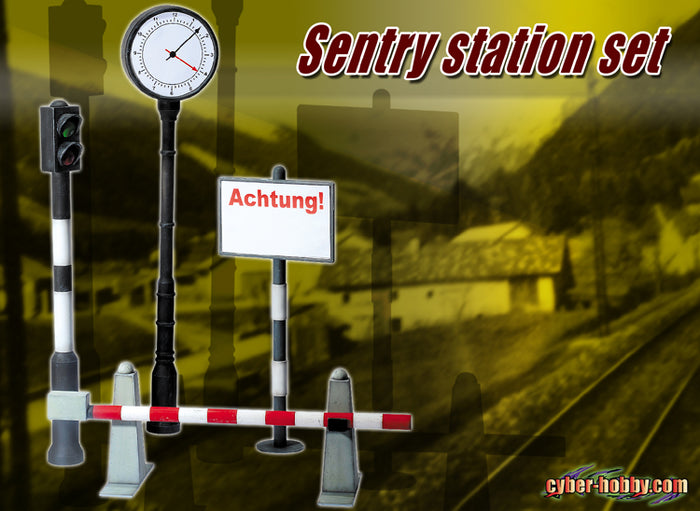 1/6 SENTRY STATION SET