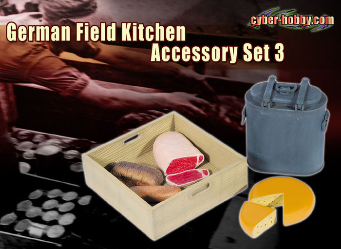 1/6 GERMAN FIELD KITCHEN ACCESSORY SET 3