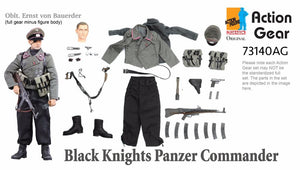 1/6 Dragon Original Action Gear for Oblt. Ernst von Bauerder , Black Knights Panzer Commander