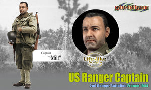 "1/6 Captain ""Mill"" US Ranger Captain 2nd Ranger Battalion France 1944"