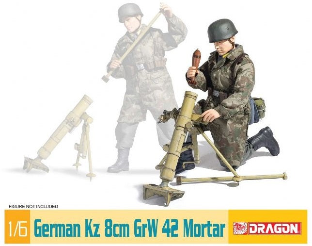 1/6 German Kz 8cm GrW 42 Mortar